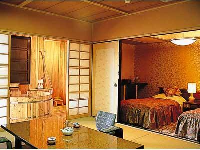 Japanese/Western-style Room with Scenic View Open-air Bath