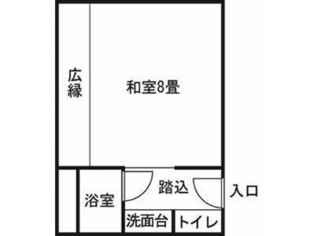 Japanese Style Room - Room plan