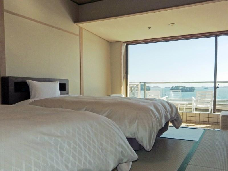 和式房+床 (Japanese-style Room with Bed(s))