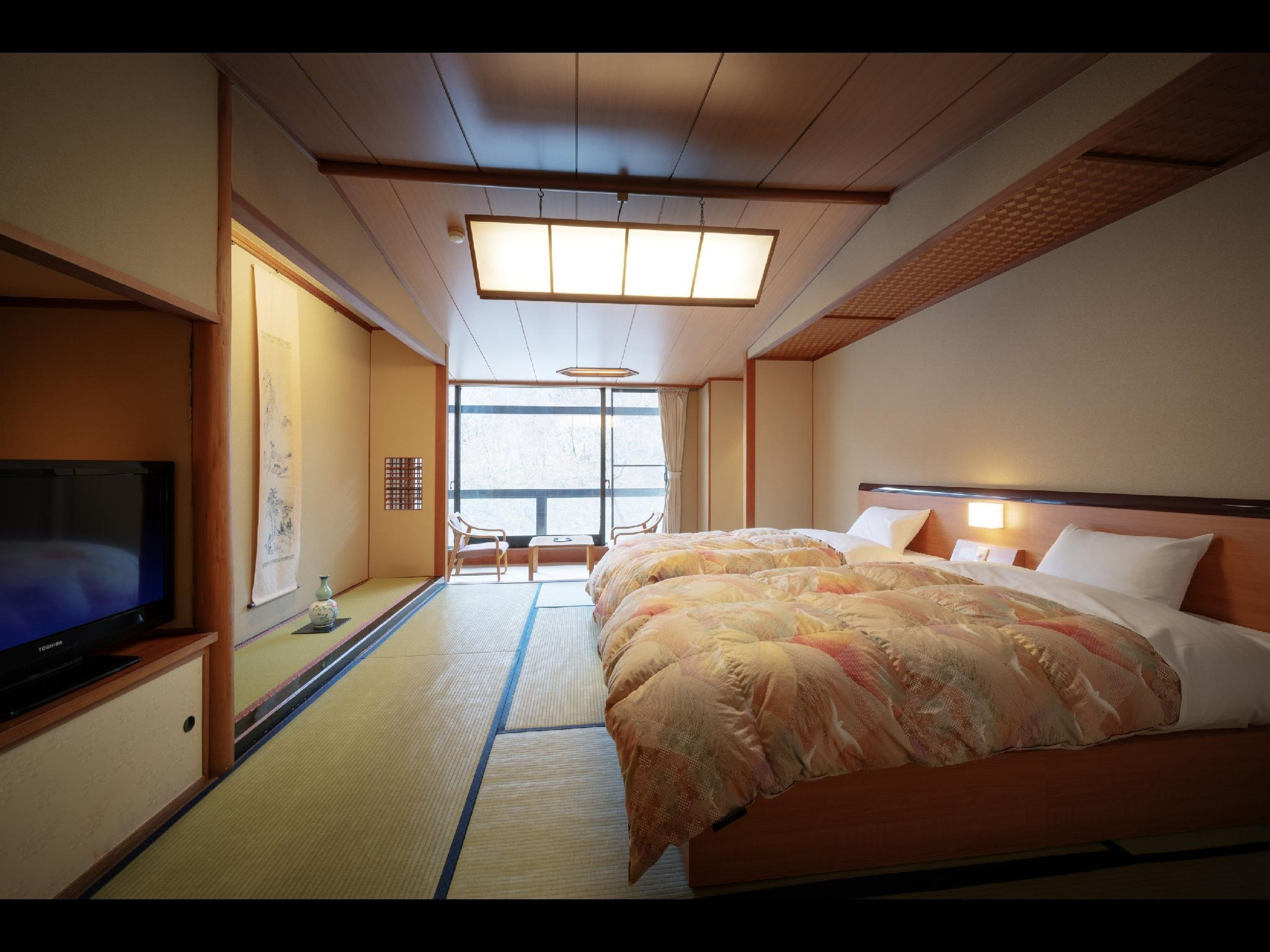 青葉館 和式房(2張床) (Japanese-style Room (Twin Beds, Aoba Wing))