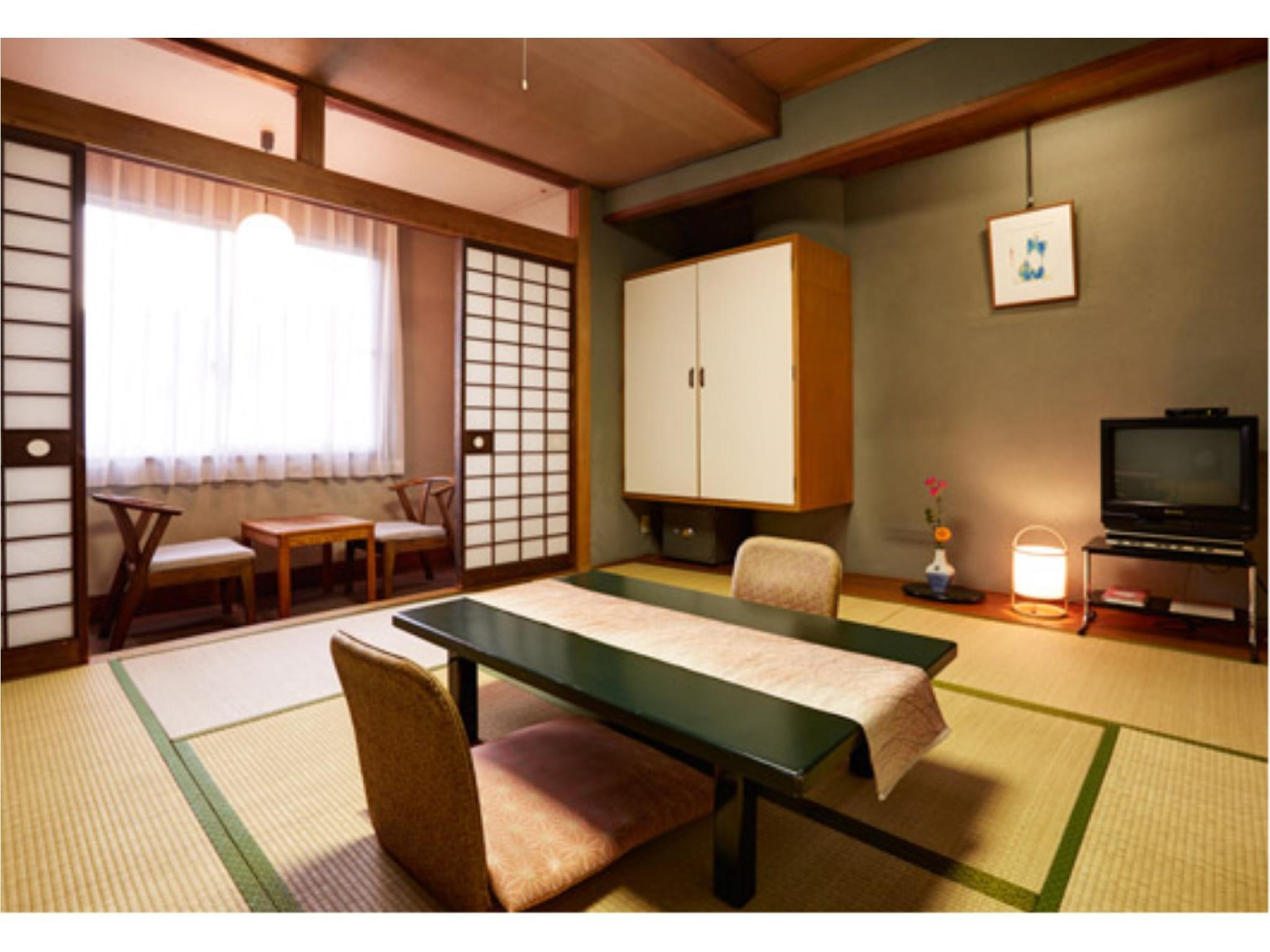本館 和室 禁煙|8畳+踏込 (Japanese Style Room Main Building)