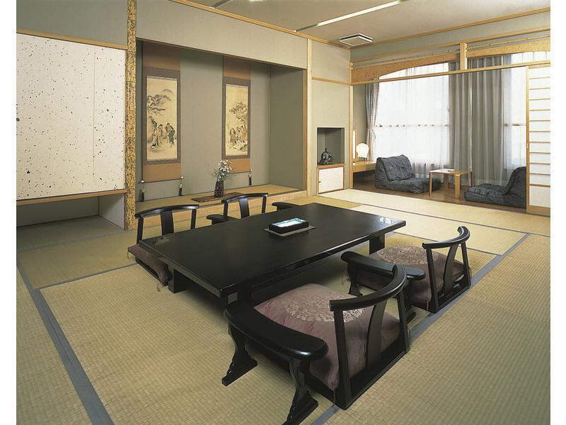 新館 明亭 和室 禁煙|12畳+踏込 (Japanese-style Room (Akaritei Type, New Building))