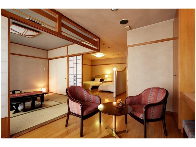 特別和洋式房 (Special Japanese/Western-style Room (Top Floor))