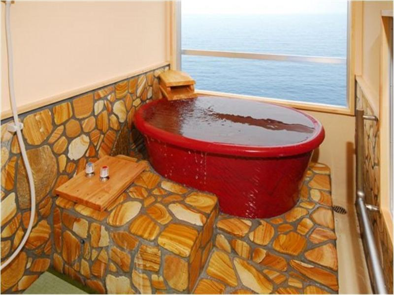 Japanese-style Room with Ceramic Bath