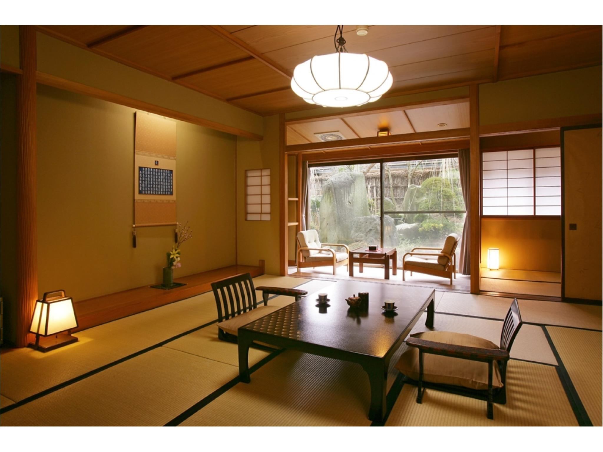 本館 和式房※2020年4月起禁菸 (Japanese-style Room (Main Building) *Non-smoking from Apr. 2020)