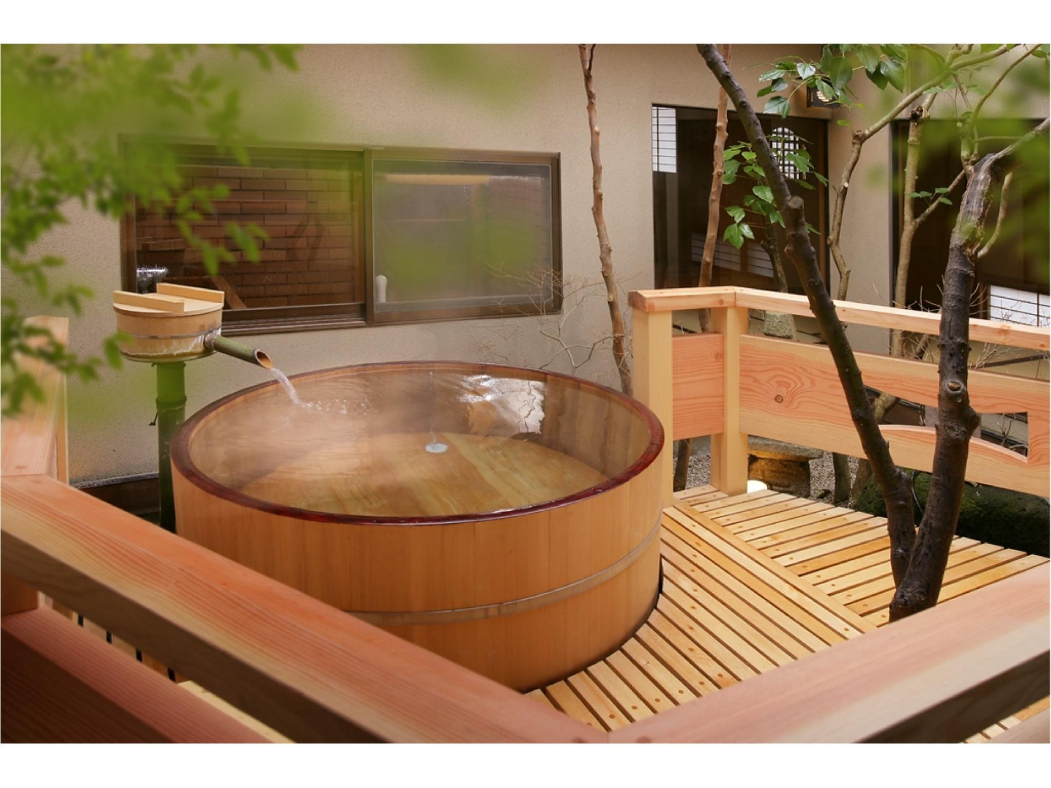 別館「光陰」 特別房+露天桶風呂※2020年4月起禁菸 (Special Room with Open-air Bath (Koin Annex) *Non-smoking from Apr. 2020)
