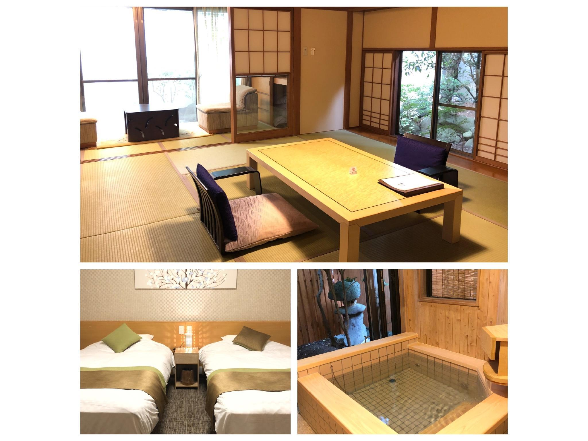 Japanese/Western-style Room with Open-air Hot Spring Bath