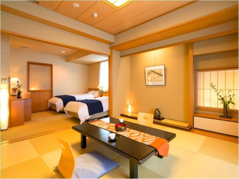 Standard Japanese/Western-style Room with Bed