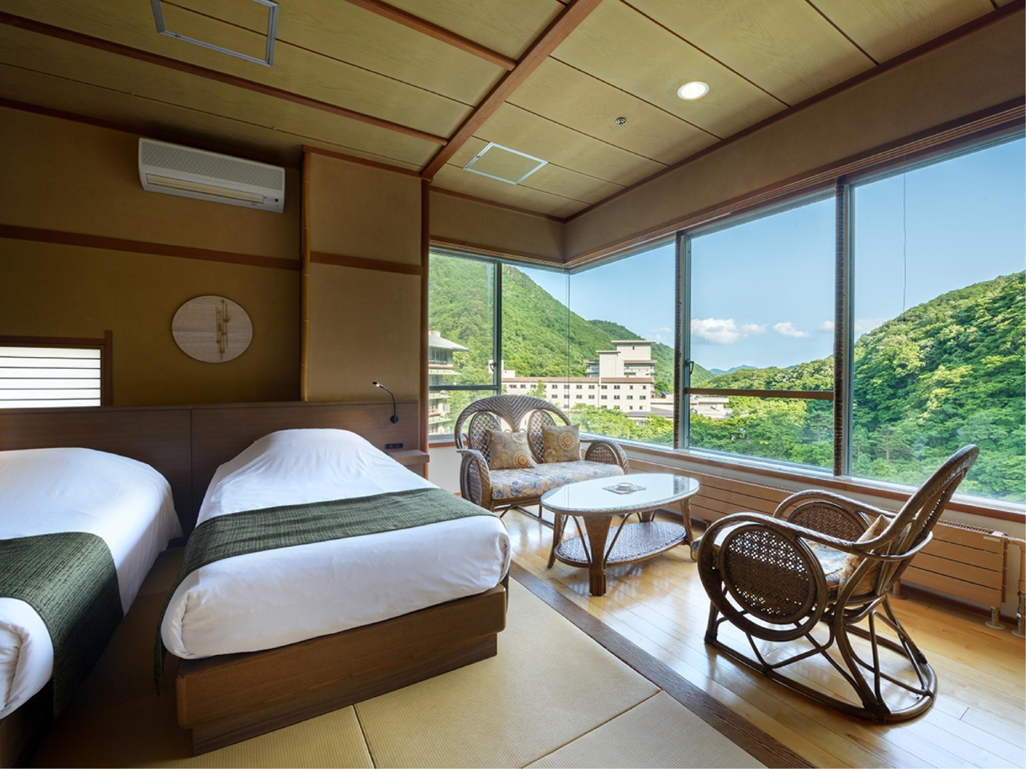 Wide Twin Room (Onsen Club)