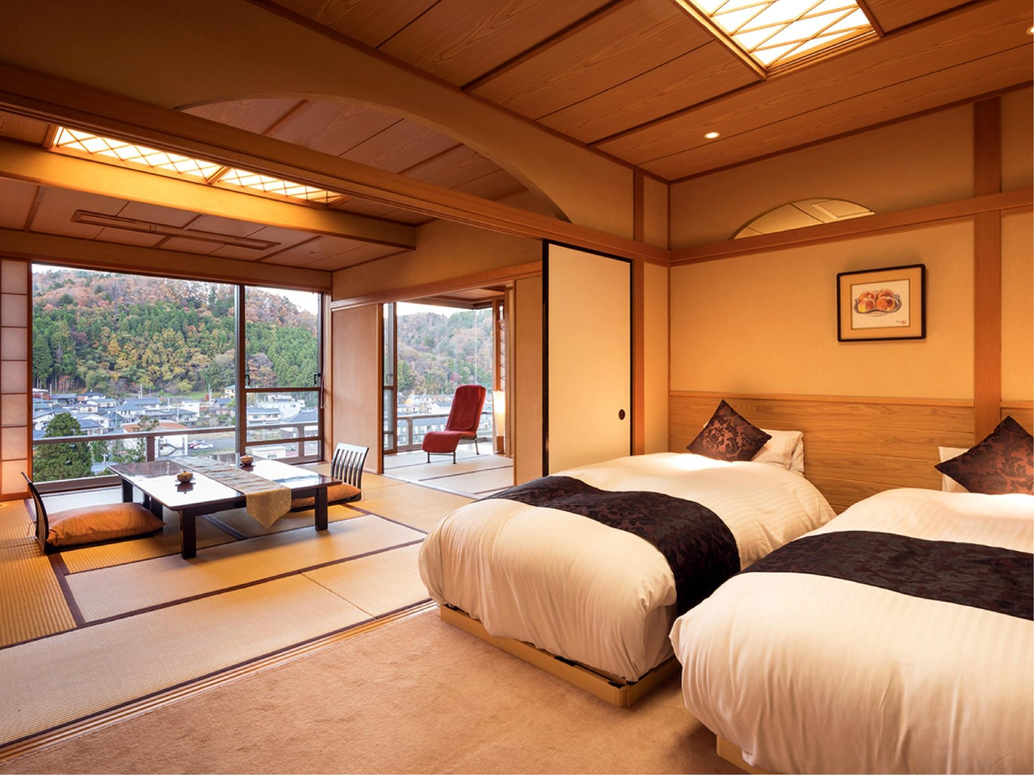 Japanese/Western-style Room (2 Beds, Hiten Wing)