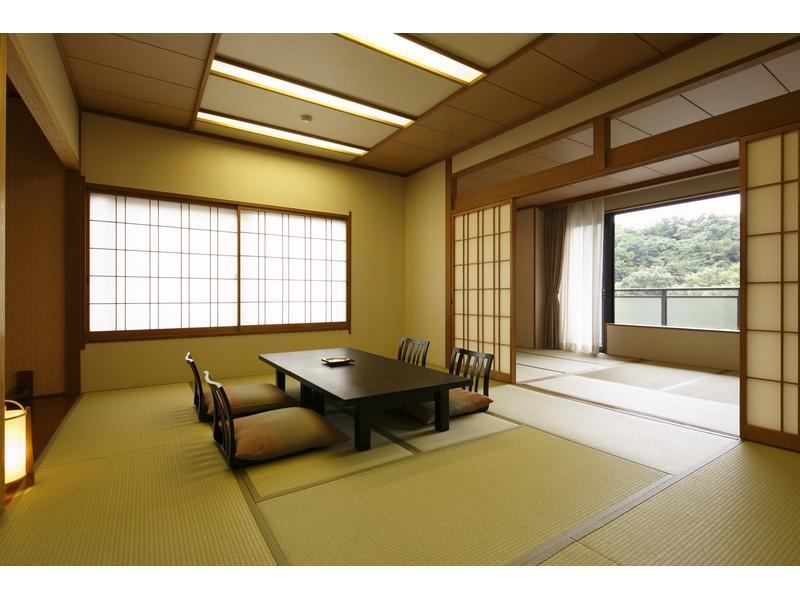 西館 和式房+寬走廊 (Japanese-style Room with Hiroen Space (West Wing))
