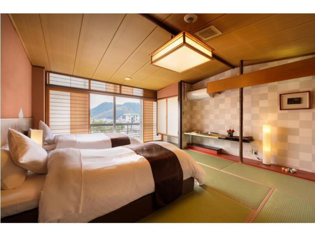 Japanese-style Room (2 Japanese Beds, Type A, Ichikoma Type) - Guestroom