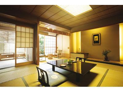 和室(はなれ・14畳・露付)≪禁煙≫|14畳 (Detached Japanese-style Room with Open-air Bath)