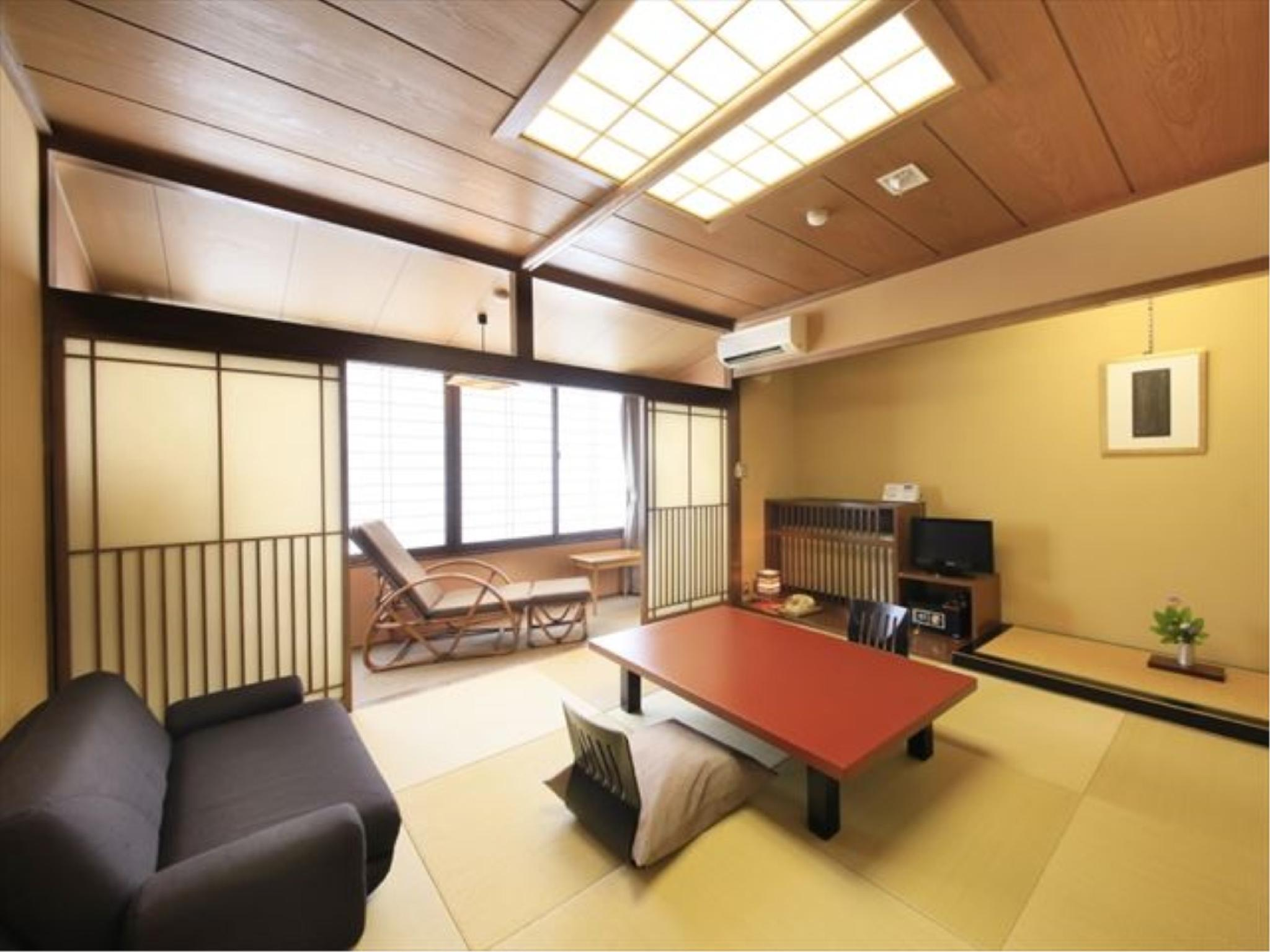 다다미 객실(BYAKURANIRO/노천탕) (Japanese-style Room with Open-air Bath (Byakuraniro Type))