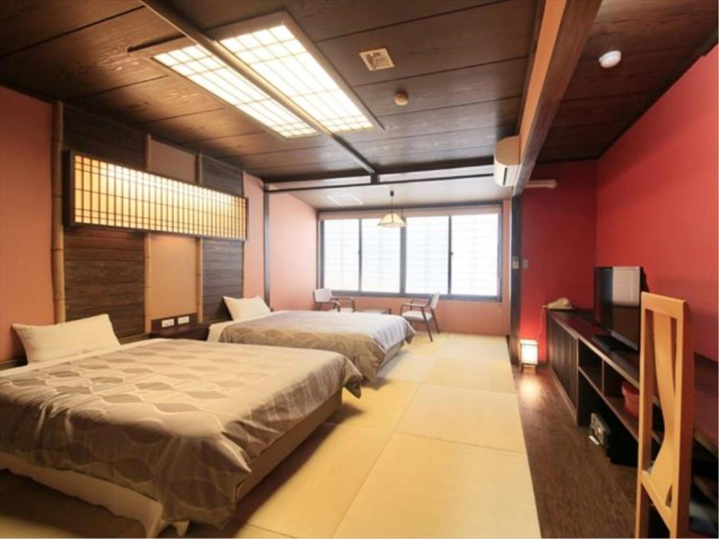 Japanese-style Modern Twin Room with Massage Chair - ห้องพัก