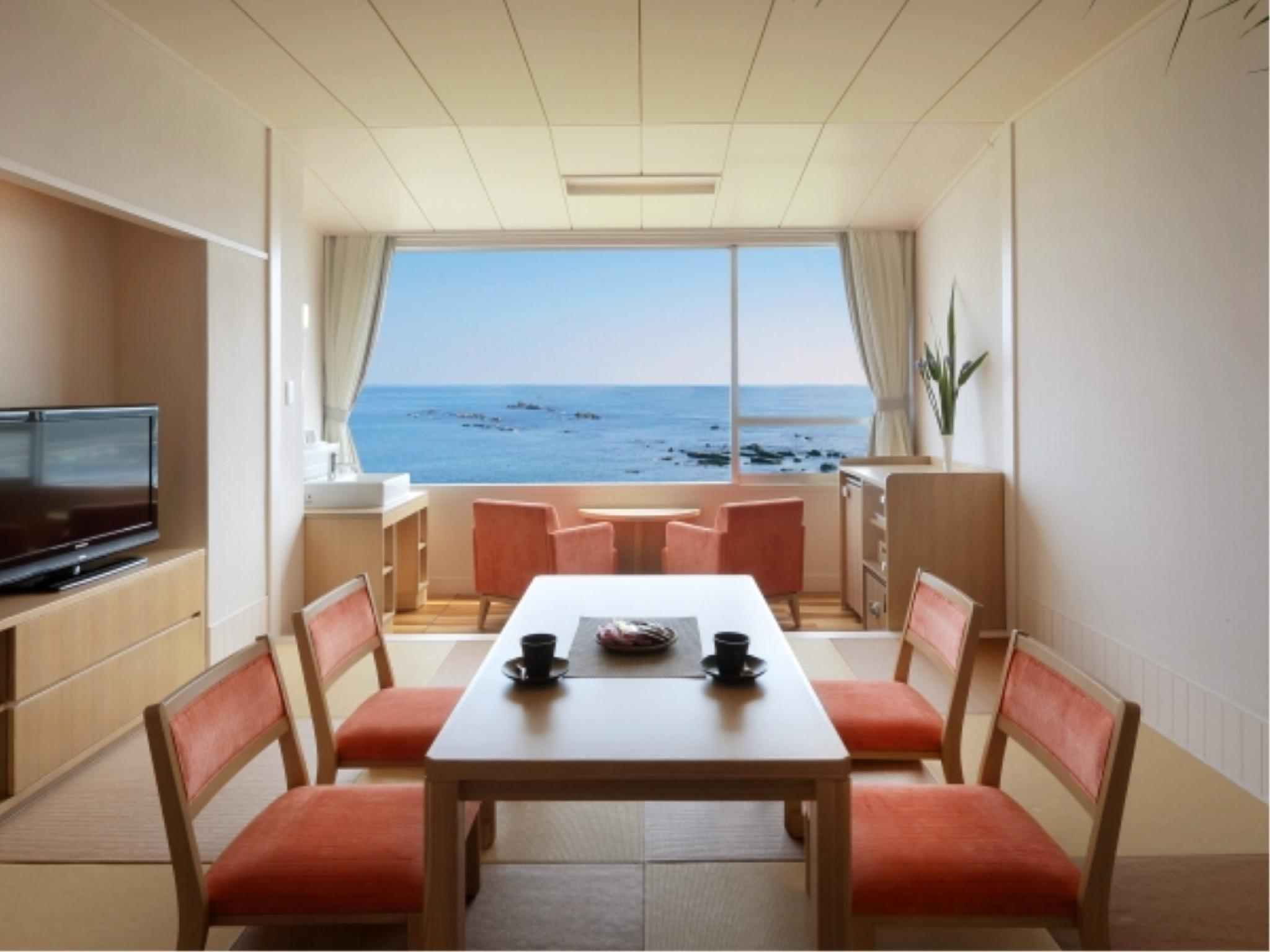 【禁煙】☆上層階☆琉球畳和室10畳(ペット同伴不可)|10畳 (Japanese-style Room (Upper Floors, Okinawan Tatami Flooring) *No pets)