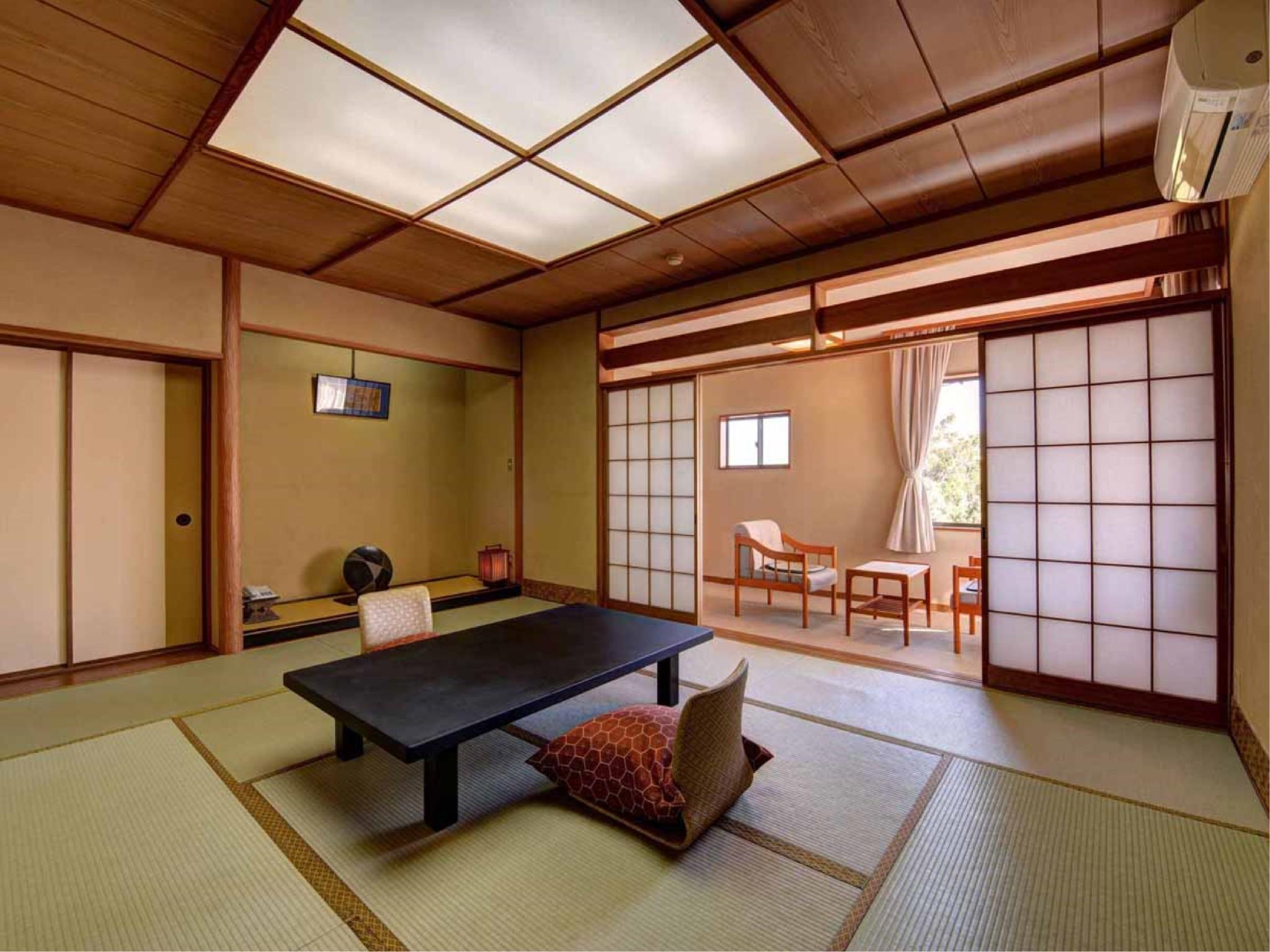 다다미 객실(본관/저층 플로어) (Japanese-style Room (Lower Floors, Main Building))