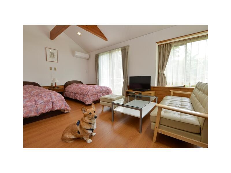 Japanese/Western-style Cottage (2 Beds) *Pets OK