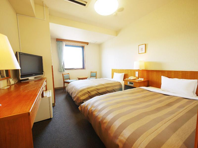 雙人雙床房 (Twin Room (Mt. Fuji Side))
