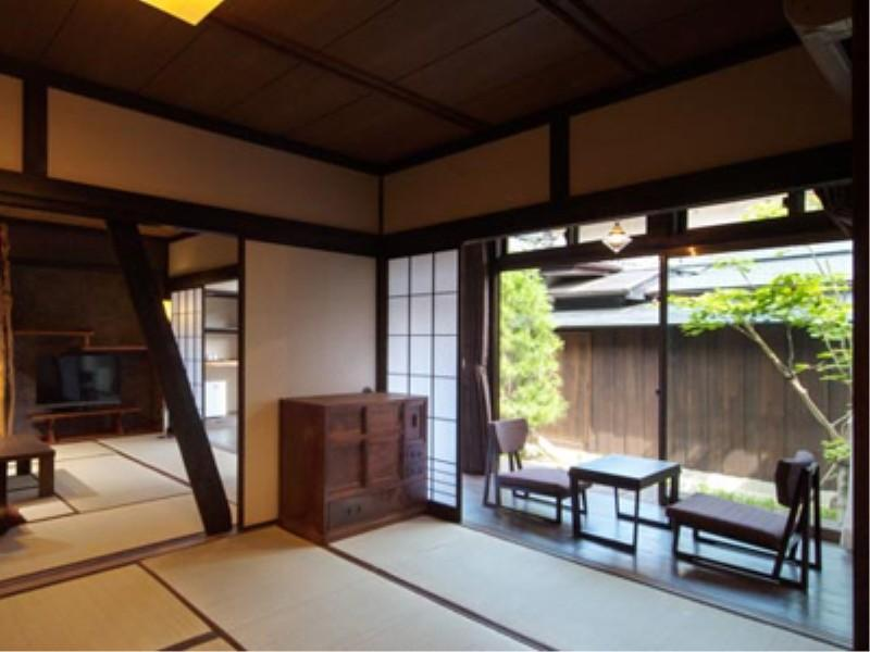 ろ棟(準離れ 露天風呂付)A|62平米 (Detached Japanese-style Room with Open-air Bath (Type A, Ro-to Wing))