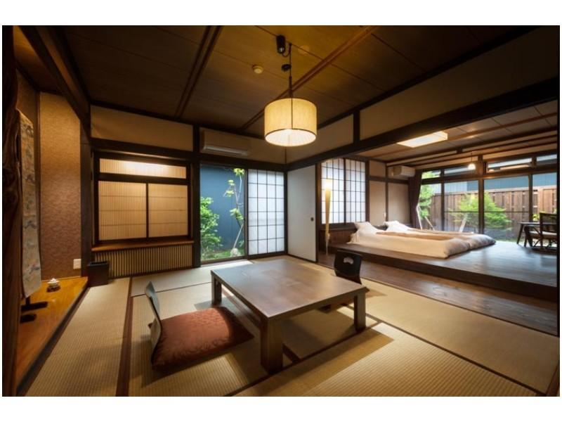 Ha栋 和洋式房+露天风吕 (Japanese/Western-style Room with Open-air Bath (Ha-to Wing))