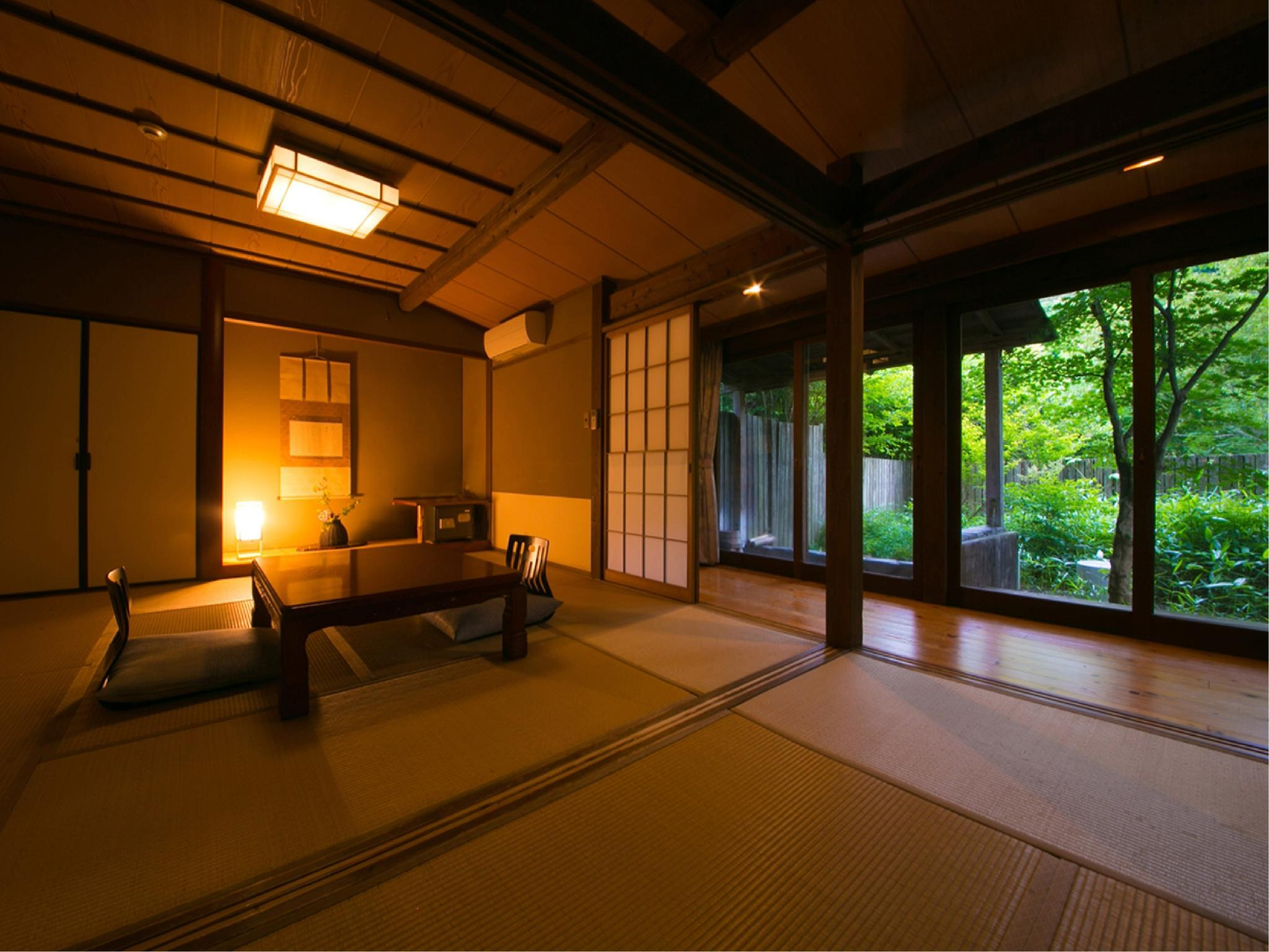 Detached Japanese-style Room with Open-air Bath (Type A, Main Building)