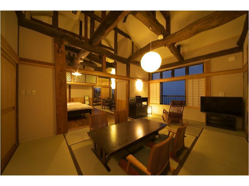 Japanese/Western-style Room with Open-air Bath (2 Beds, Kaede Type, Annex)