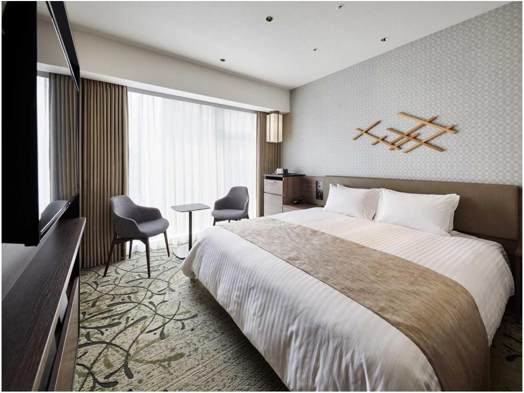 Moderate Double Room (King Bed) - Guestroom Hotel Vischio Kyoto by Granvia
