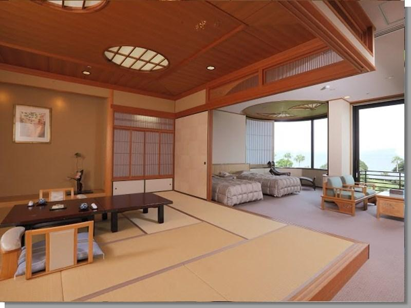 離宮 和洋式房 (Japanese/Western-style Room (2 Beds, Rikyu Wing))