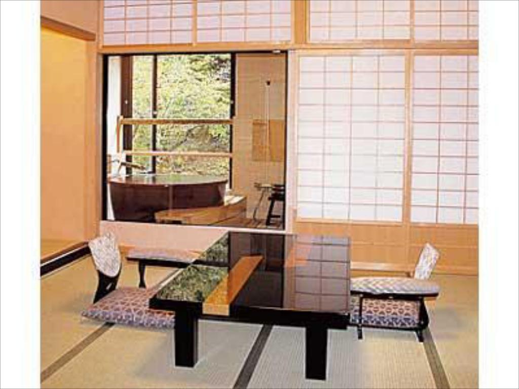 Special Japanese-style Room (Kiri-no-Hana Type, New Building) - ห้องพัก เซมิ ออนเซ็น (Semi Onsen)