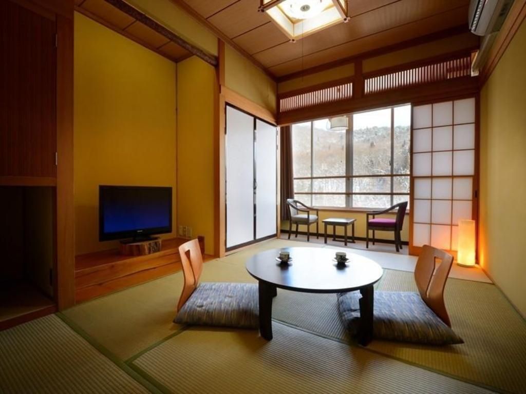 Japanese-style Room with Hiroen Space - Guestroom Haruka-no-Yu Kaze-no-Toki