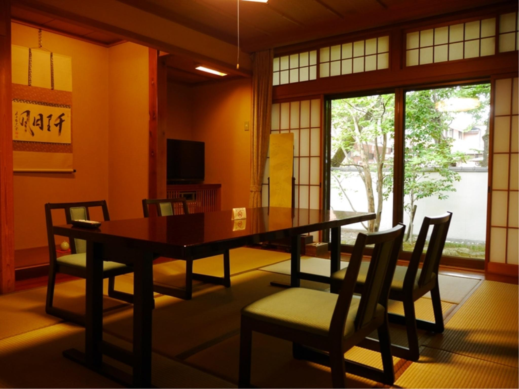 Detached Japanese-style Room with Garden View Hot Spring Bath (Waremoko Type, Shiki-tei Wing) *Refurbished 2017