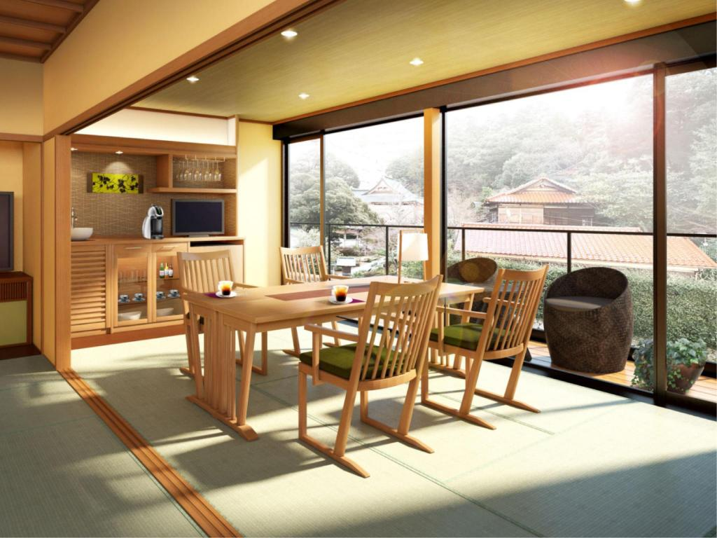 Japanese-style Room with Dining Room (Moegiiro Type)