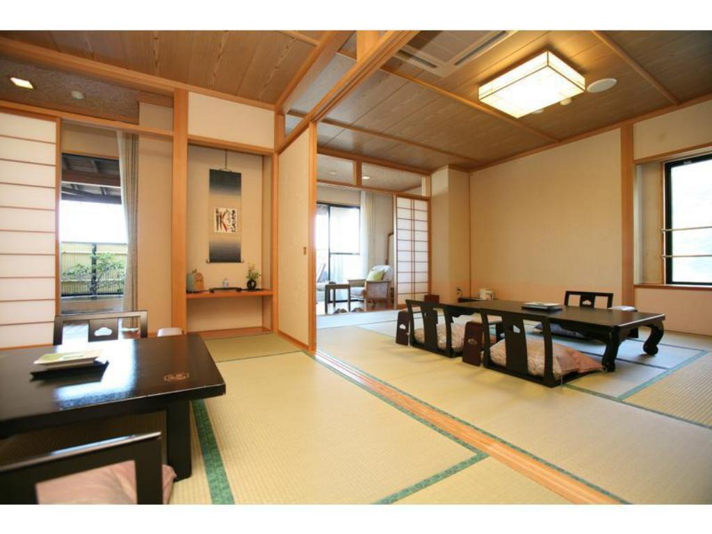 Special Japanese/Western-style Room with Scenic View Open-air Bath (2 Beds) - Guestroom Nanakusa no Yu