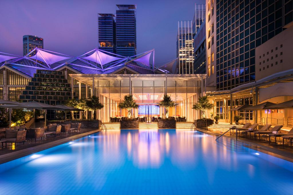 Swimming pool [outdoor] Conrad Centennial Singapore