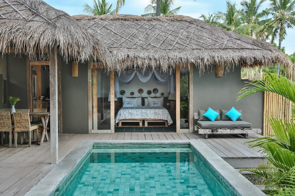 1 Bedroom Pool Villa Slow Private Pool Villas Gili Air