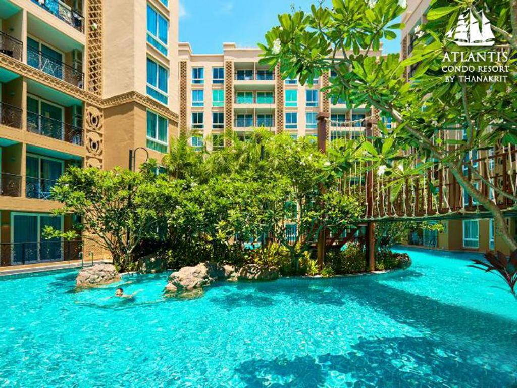 Schwimmbad Atlantis Condo & Water Park Pattaya by The Sea