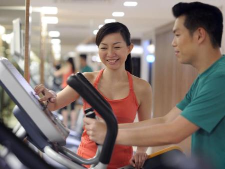 Fitness center Mandarin Orchard Singapore