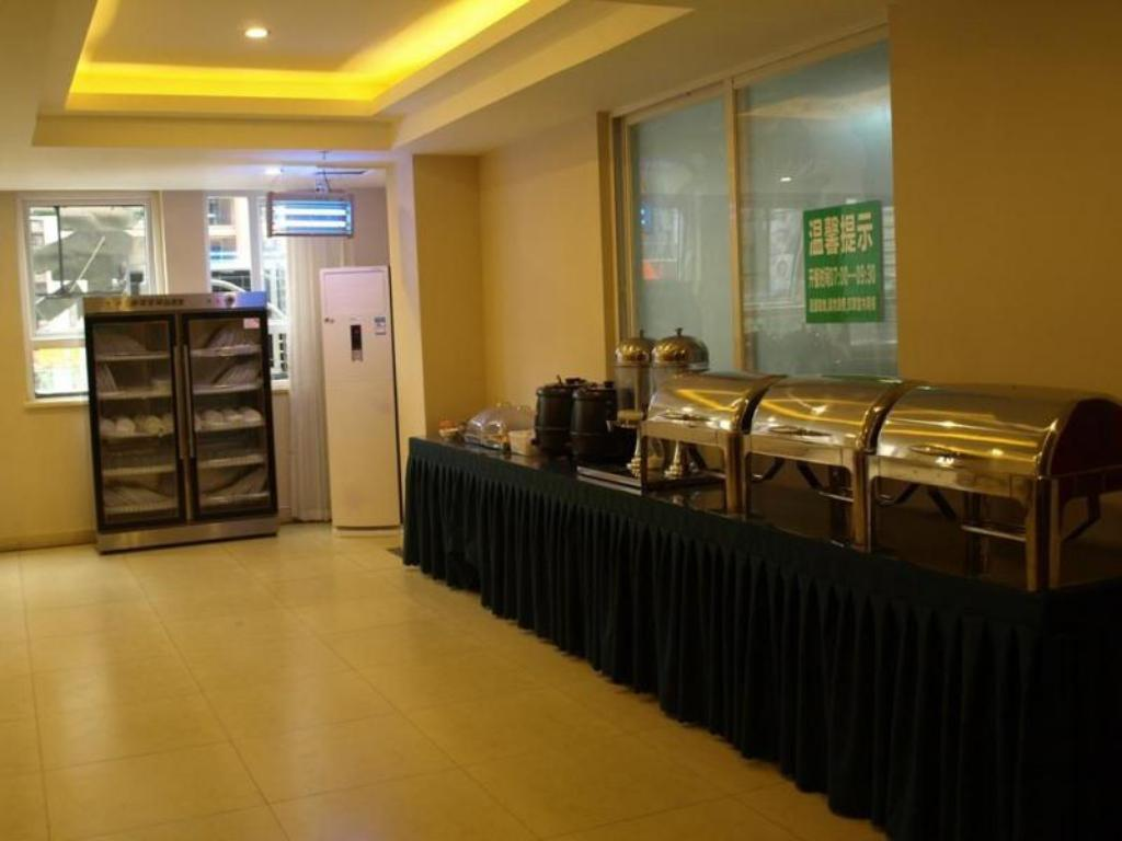 Buffet Greentree Inn Chengdu North Railway Station Beichengtianjie Business Hotel