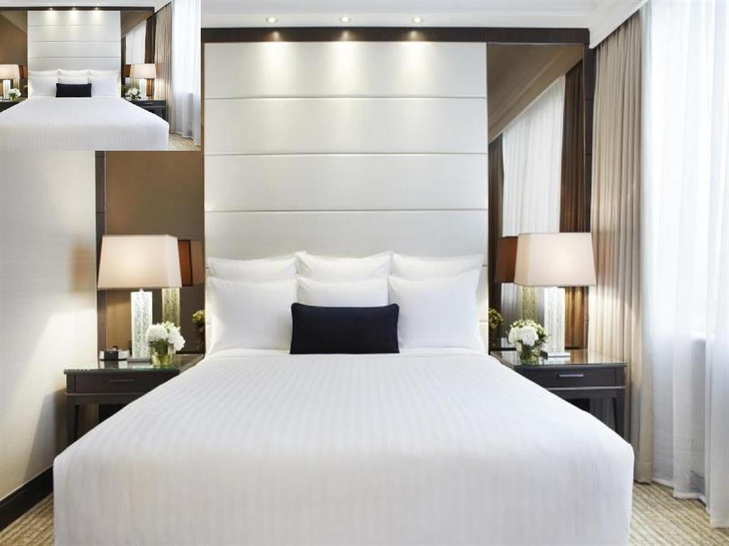 Deluxe, Guest room, 1 King or 2 Twin/Single Bed(s) - Bed Singapore Marriott Tang Plaza Hotel