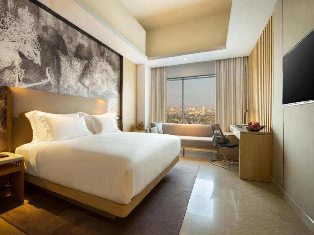 Deluxe Room - Bed Alila Solo