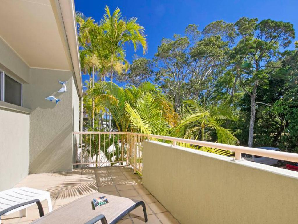 Balkong/terasse Noosa Apartments 5 2 Hastings Street