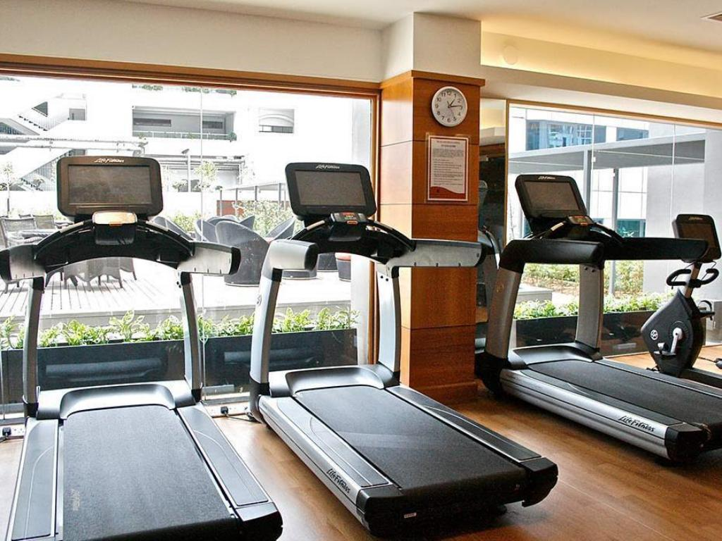 Fitness center Orchard Hotel Singapore