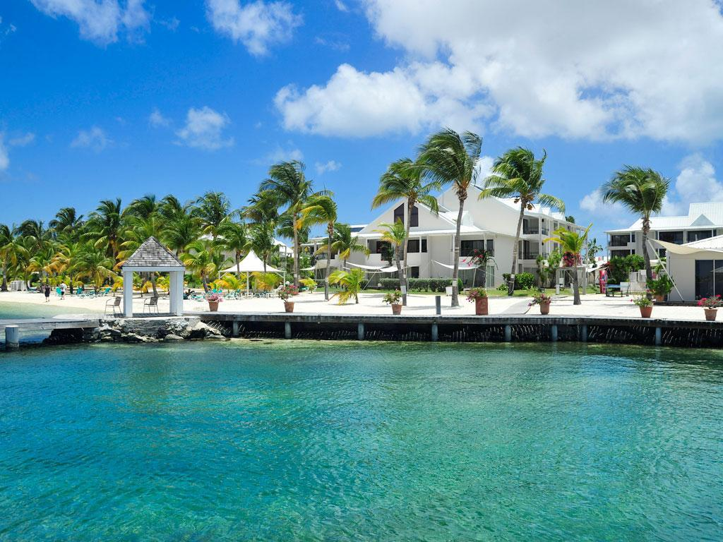 Exterior view Hotel Mercure St Martin Marina and Spa