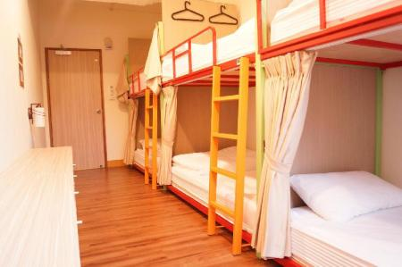 1 Bed in 6 Bed Female Dormitory Room TripGG Hostel