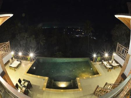 Piscina Perfect View Pool Villa
