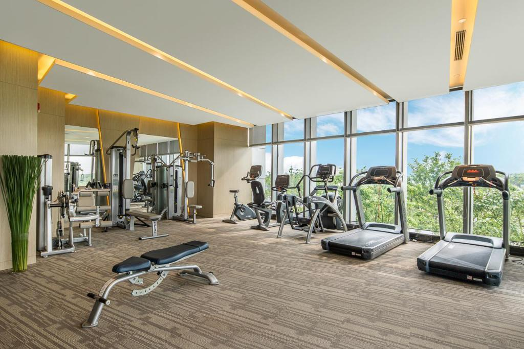 fitness centrum Radisson Blu Shanghai Pudong Jinqiao
