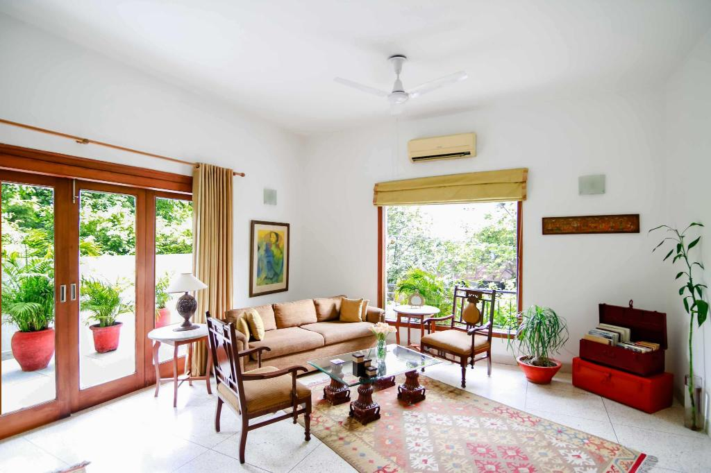 Αίθουσα υποδοχής Thikana Boutique Bed and Breakfast Delhi