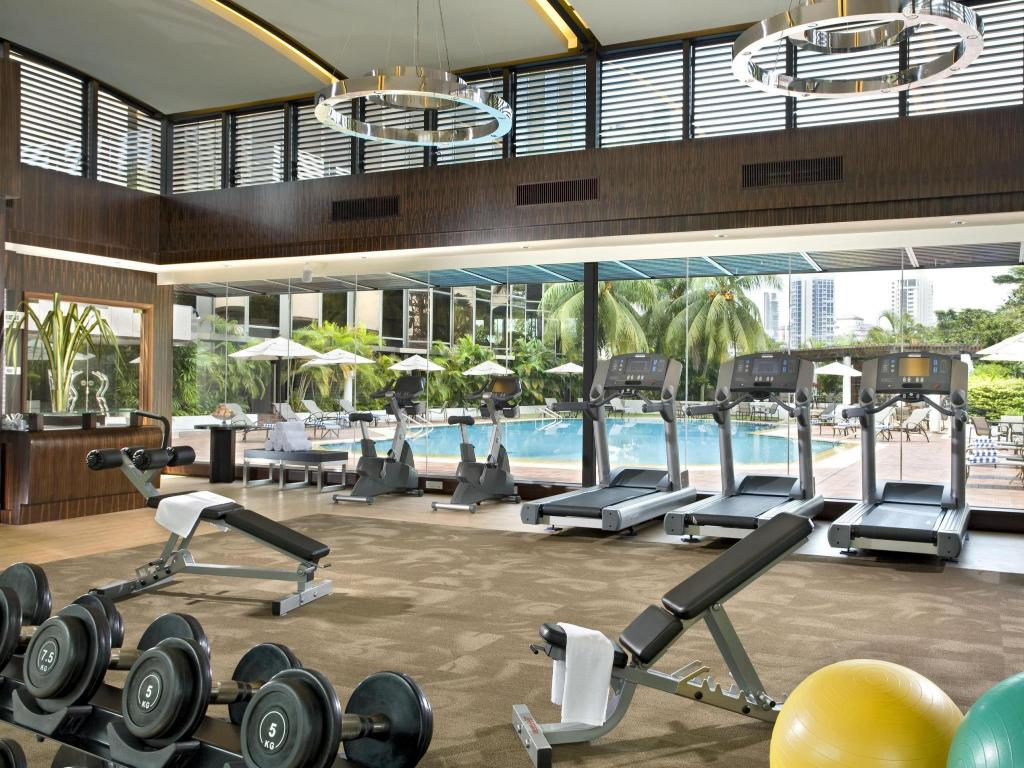 gym Sheraton Towers Singapore Hotel