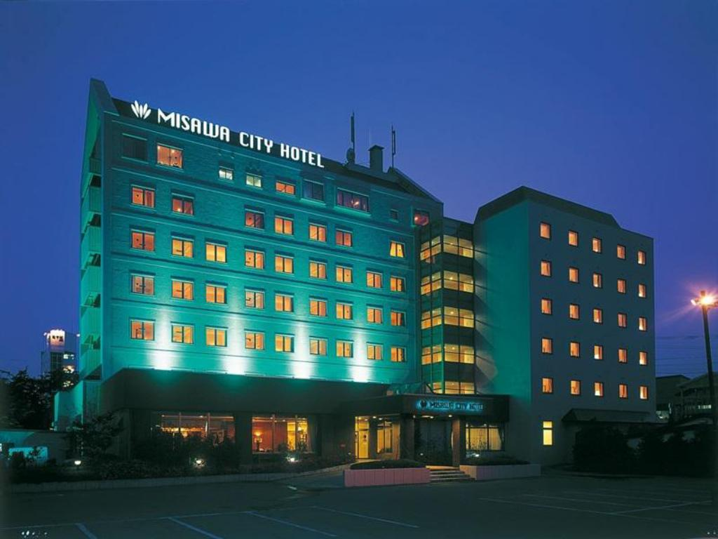 Exterior view Misawa City Hotel